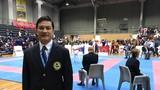 Chủ tịch Hiệp hội Karate Nghệ An làm trọng tài tại SEA Games 29