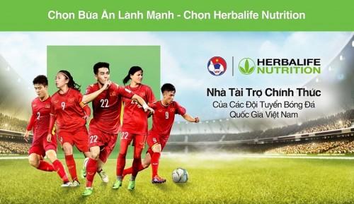 Herbalife Việt Nam:Chính thức là Nhà Tài trợ chínhcủa đội tuyển Bóng đá Việt Nam